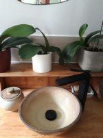 vasque à poser artisanale