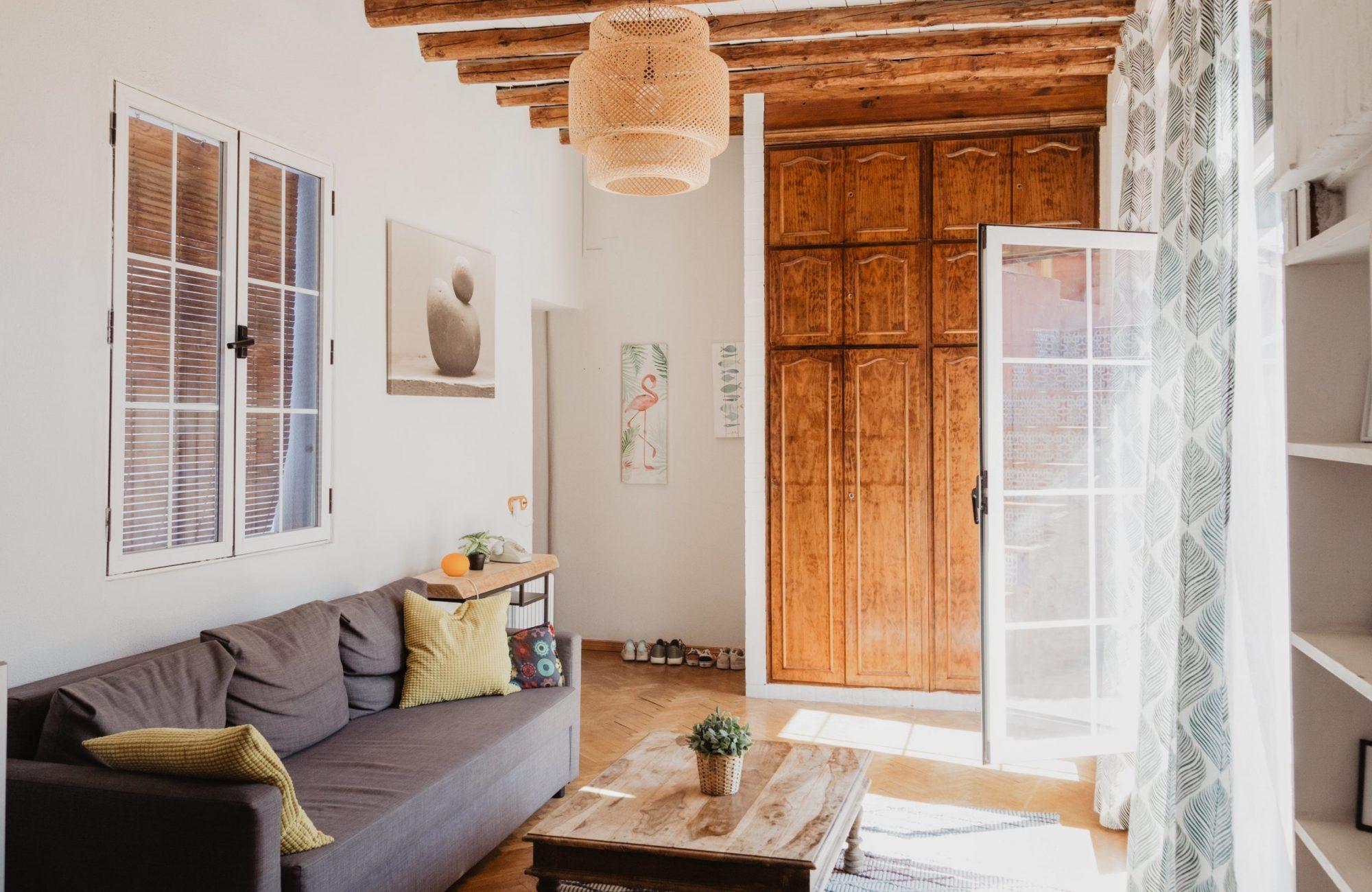 décoration salon nature et minimaliste